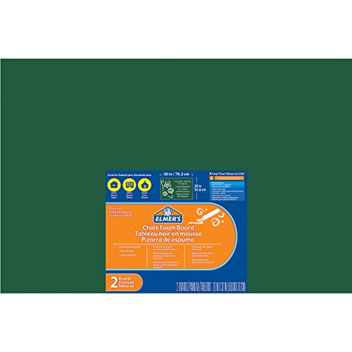 - Elmer's/X-Acto Chalk Foam Boards (2 Pack), 20