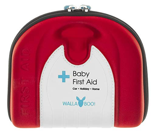 Wallaboo Basic First Aid Kit for Babies, Durable and Sturdy, Camper
