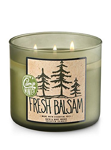 Price comparison product image Bath & Body Works 3-Wick Candle in Fresh Balsam