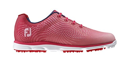 FootJoy Women's Empower Golf Shoes, Close-Out (7.5 B(M) US, Red/Pink 98002)