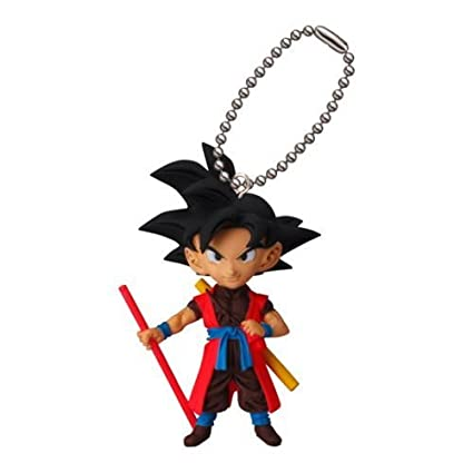 Amazon.com: Dragon Ball Z DBZ Son Goku Xeno Figure Keychain ...