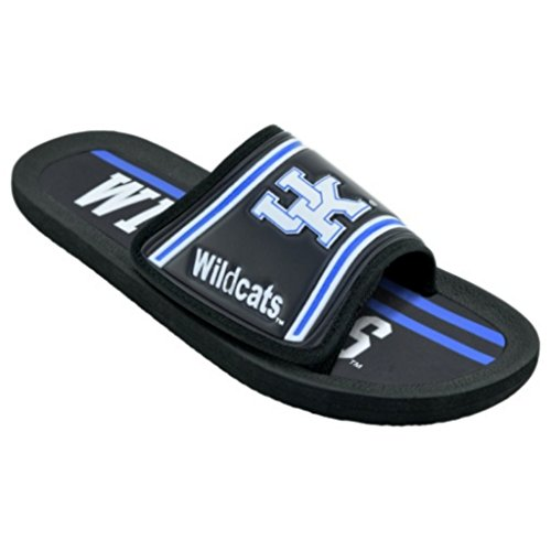 Campus Footnotes Mens Legacy Sport Shower Sandal Slides Kentucky Wildcats mxXYTE