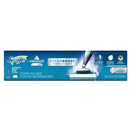 Swiffer 85801EA Bissell Steam Boost Mop, 10