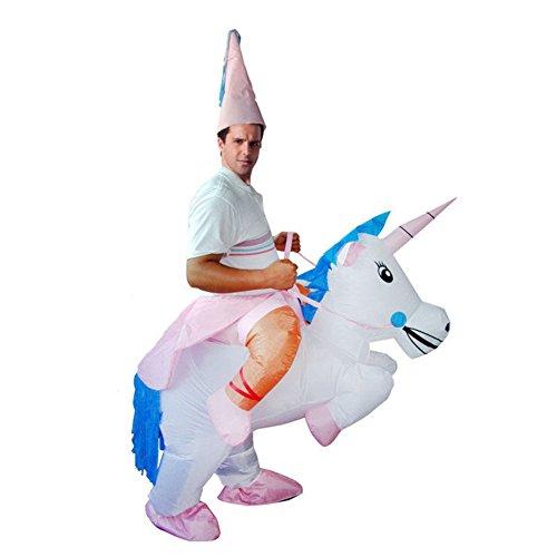 [Inflatable Unicorn Halloween Party Cosplay Costume] (Child's Unicorn Costume Uk)