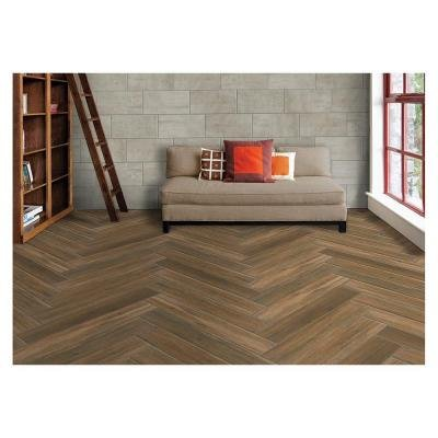 Marazzi Montagna Portwood 6 In X 36 In Glazed Porcelain Floor And