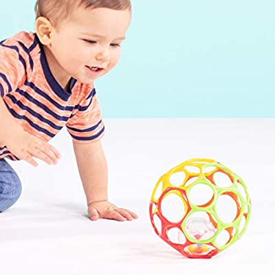 Bright Starts Oball 2-in-1 Roller Sit-to-Stand Push Toy : Baby