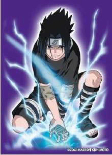 MAX Protection Naruto CCG Revenge and Rebirth Bandai Official Limited Edition Card Sleeves - Sasuke
