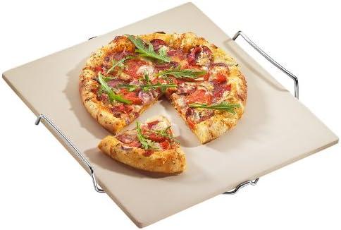 Pizzaschieber und 6 Pizzamesser HOME im Vorteils-Set Pizzastein