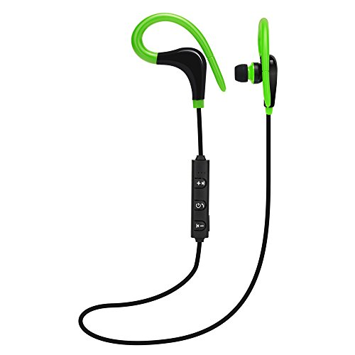 Price comparison product image BIYATE Bluetooth Headphones,  Best Wireless Sports Earphones w / Mic Waterproof HD Stereo Sweatproof Earbuds for Gym Running Workout 6 Hour Battery Noise Cancelling Headsets