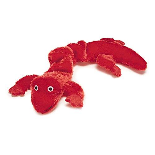 Zanies Plush Bungee Gecko Pet Dog Toy, 16