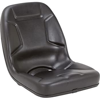 Highback Kubota Tractor Seat - Black, Model# 53000BK