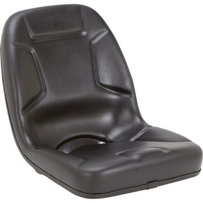 Highback Kubota Tractor Seat - Black, Model# 53000BK