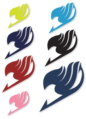 Amazon.com   Fairy Tail Guild Symbol Temporary Tattoo Set of 5 Colors    Tattooing Products   Beauty 30a9e8e50
