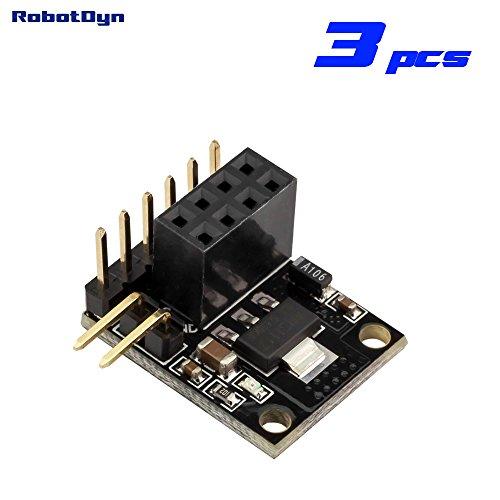 Robotdyn   3 Pcs   Nrf24l01  Power Adapter  With Regulator 3 3V  Compact Size