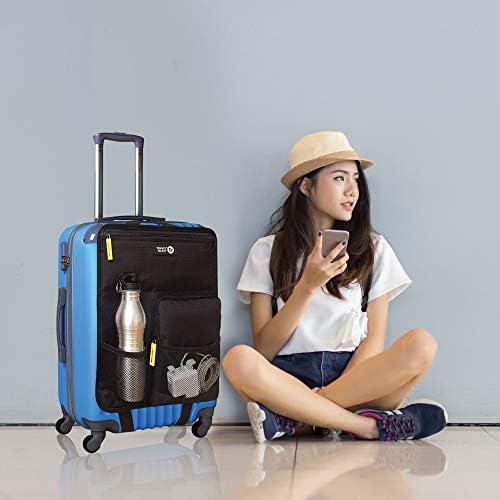 De voyage ajoute des poches ext/érieures /à votre valise bouteilles et plus encore Facile /à attacher /à la plupart des bagages /à main pour plus de fonctionnalit/é. Peut contenir passeport