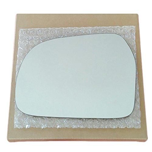 Mirror Glass and Adhesive | 99-04 Suzuki Vitara / 99-04 Geo Tracker SUV Driver Left Side Replacement