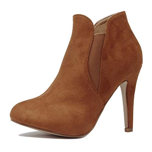 Guilty Heart | Kendall-10 Chestnut Suede, 8.5