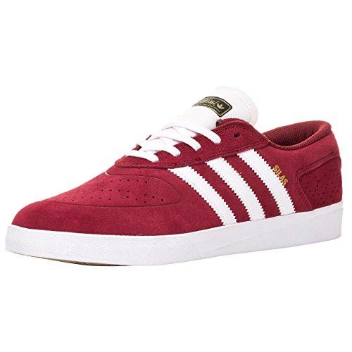 Adidas Silas Vulc ADV, collegiate burgundy/running white/black collegiate burgundy/running white/black
