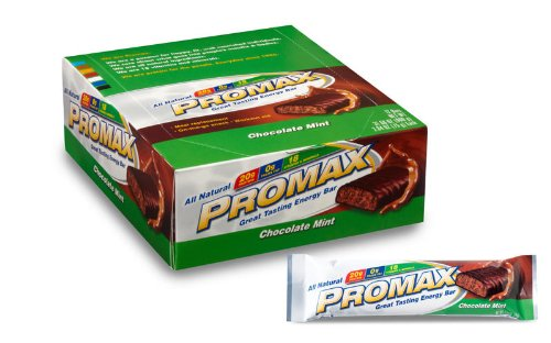 Promax Bar, Chocolate Mint,  2.64-Ounce Bars, 12-Count