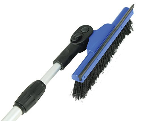 "Hopkins 580-EP Mallory Mini Telescoping Snow Broom with Pivoting 8"" Head (Colors may vary)"