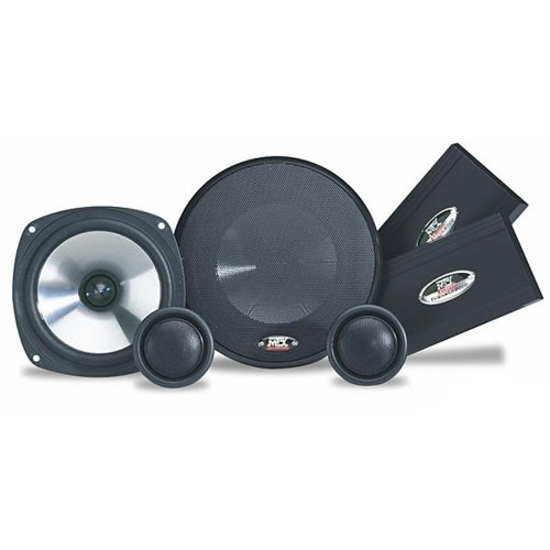 "MTX T8.5 5.25"" Car Audio Component Speakers w/ Tweeters & Crossovers"