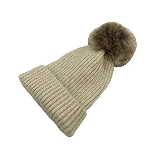 de de Sombrero Sombrero Multicolor28 Punto Invierno para Terciopelo Hombres de Moda Plus Punto Grueso Sombrero Black Temptation 1 nvxq4