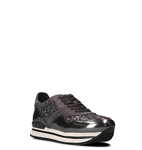Sneakers Hogan Grigio Donna HXW2220N622CRN0054U Pelle dqqfT7F