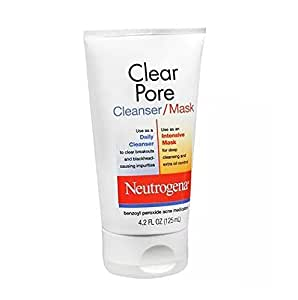 Clear pore cleanser mask
