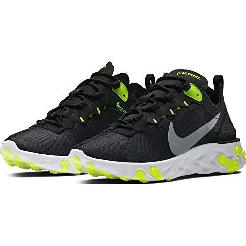 W Multicolor Grey 55 Grey Zapatillas 001 Mujer Cool Wolf Element de para Running Nike React Volt Black dqw7zdR