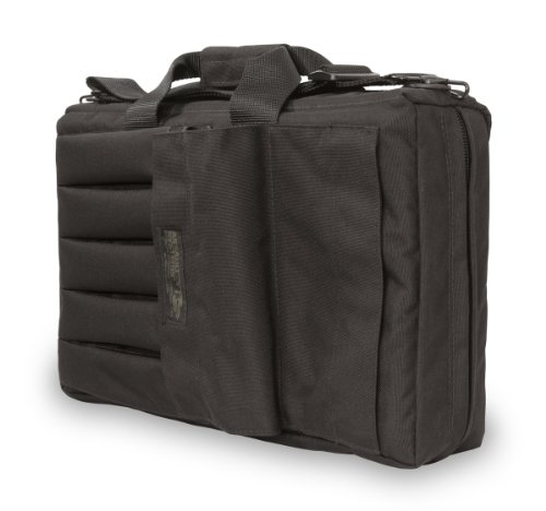 Elite Survival Systems ELSSMGC-B-5 Submachine H&K Ump Gun Case, Black, 18