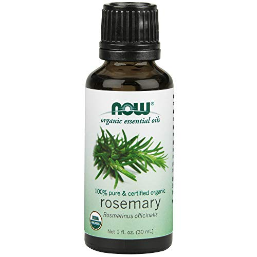 NOW Organic Rosemary Essential Oil, 1-Ounce