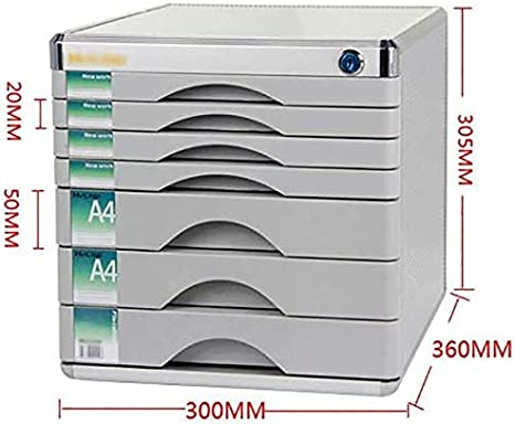 File Cabinets Blank Label Aluminum Alloy Adopts Anti-Off Buckle Office Supplies Pull-Out Type Orderly Way Color : Silver 30x36x30.5cm Home Office Furniture