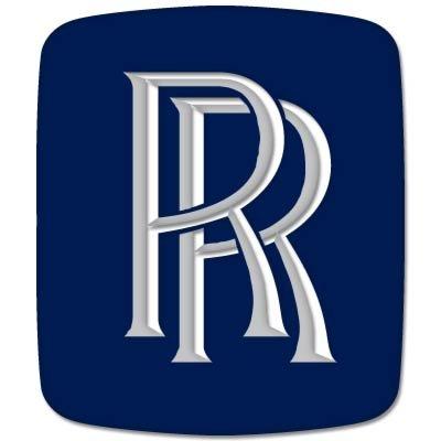 Rolls-Royce British car styling emblem Vynil Car Sticker Decal - Select Size (Rolls Royce Truck)