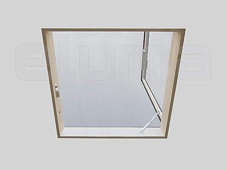lucarne/ventana de tejado – Línea Classic libro (Pozo de luz – incluye ventana para el acceso al techo) empalme/doble ventanas/Apertura lateral: Amazon.es: Bricolaje y herramientas