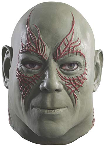 Rubie's Men's Guardians of The Galaxy Drax Costume, Multicolor, Overhead Mask -