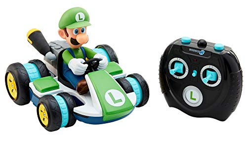 Nintendo Super Mario Kart 8 Luigi Anti-Gravity Mini RC Racer 2.4Ghz (Mini Kart Car)