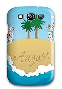 New Arrival Galaxy S3 Case August Summer Case Cover