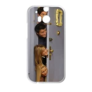 Friends Tv Show Door,TPU Phone case for HTC One M8,white