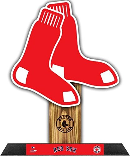 Boston Red Sox StandZ Team Logo Photo Desktop Display