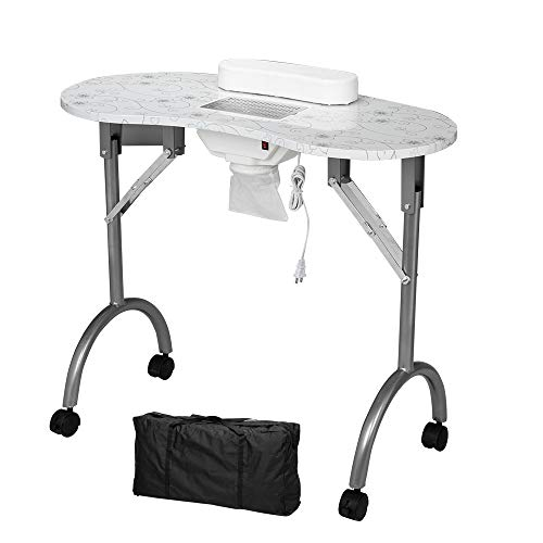 table fan for nail station - 3