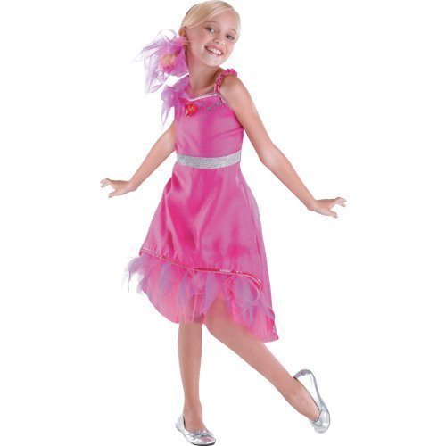 [HSM 3 Sharpay Prom Deluxe Child Costume Size 4-6x Small] (Hsm Costumes)
