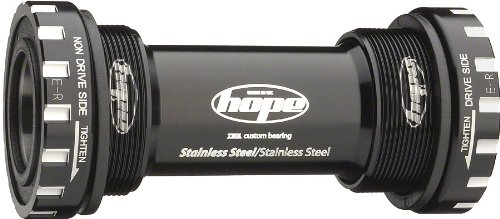 Hope External Bottom Bracket - Stainless Black, X-Type