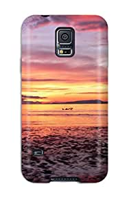 Defender Case For Galaxy S5, Beach Scene Pattern