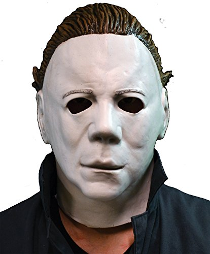 Michael Myers Clown Costumes (UHC Men's Halloween II Michael Myer's Latex Mask Horror Party Costume Accessory)