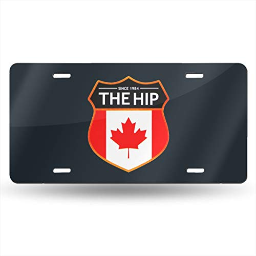 Dunpaiaa The Hip Since 1982 Logo Automobile (6X12) Front License Plate License/Vanity Plate ()