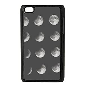 iPod Touch 4 Case Black phases of the moon EUA15983600 Typo Phone Cases