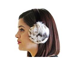 FursNewYork Natural Lynx Ear Muffs