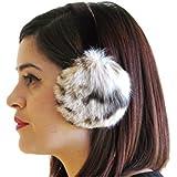 Natural Lynx Ear Muffs