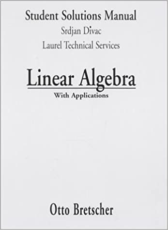 Linear Algebra and Application