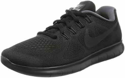 Nike Women's Free Rn 2017 Black/Anthracite Dark Grey Running Shoe 8 Women US